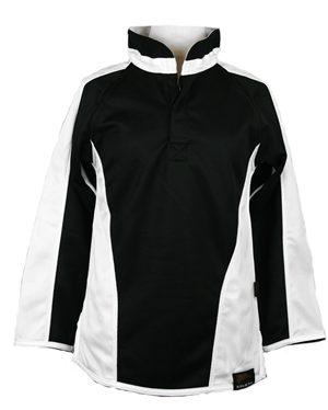 Falcon William Robertson New Rugby Top Black White £19.50