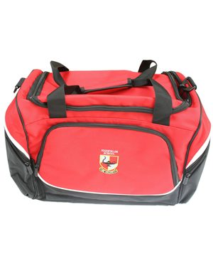 Pencarrie Highfields Sports Holdall Red Black £19.00