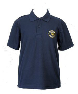 Rowlinson Everton Primary navy blue polo Navy Was: £6.50 Now: £4.87