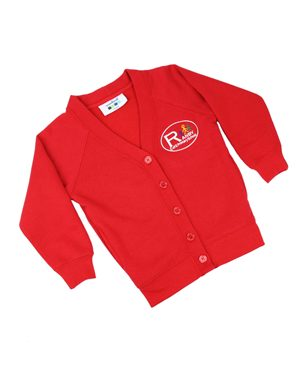 Rowlinson Ranby CE Primary Cardigan Red Was: £10.50 Now: £7.87