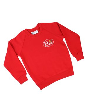 Rowlinson Ranby CE Primary Sweatshirt Red Was: £8.50 Now: £6.37